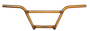 "S&M BIKES CRUISER BMX BARS 7 INCH TRANS GOLD 7"" 4 PIECE BAR HANDLEBARS HANDLE"