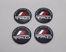4pcs 56mm Car Wheel Center Hub Caps Trim Stickers Emblem Styling TRD