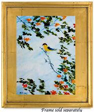 Natasha Petrosova   Original Oil Painting  Impressionism Birds Tree leaves 46378