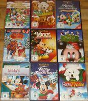 Disney Weihnachtspaket DVD NEU  Micky Maus / Die Schöne und das Biest