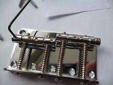 Un ACCIAIO CROMATO TIPO JAZZ/Precision 4 STRING BASS GUITAR Bridge