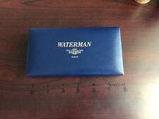 Eccezione Waterman EDSON CARENE BIANCO LEMAN 100 LEMAN Penna Stilografica 200 Scatola