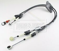 Gear Change Cable fits VAUXHALL MOVANO B 2.3D 2011 on 6 Speed MTM B&B 95519745