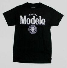 Cerveza Modelo Mexico Official Black T-Shirt New! (4C4