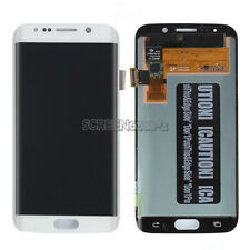 Lcd Display Touch Screen Schermo Per Samsung Galaxy S6 edge SM-G925F G925 Bianco