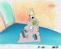 ROCKO'S MODERN LIFE ORIGINAL 1990'S PAINTED PRODUCTION CEL SPUNKY