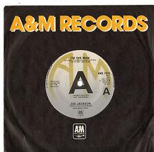 "Joe Jackson - I'm The Man 7"" Single 1979 / PROMO"