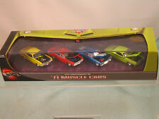 Hot Wheels 30th ANNIVERSARY '71 MUSCLE CARS  (4) Set