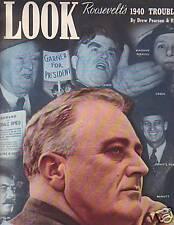 1940 Look Enero 16-Lou Gehrig; Uvas de la Ira ; Henie