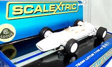 Scalextric C3442 Team Lotus Type 49 White Unpainted-Ready To Customize 1/32