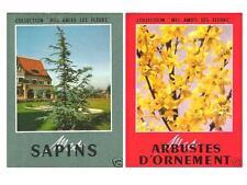 2 Livres Mes Amis les Fleurs : Sapins et autres Conifères & Arbustes d'Ornement