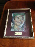 """Signed by Andy Warhol """"One of a kind"""" Personally Signed Warhol  Robin Williams"""
