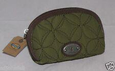 Fossil Key Per Small Dome Cosmetic Case Avocado SL3928329 NWT