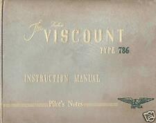 VICKERS VISCOUNT TYPE 786 - LLOYD AERO COLOMBIANO