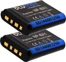 2 x 1100mAh Akku für Sony Cyber-shot DSC-WX300 / DSC-WX350 / DSC-WX500