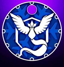Pokemon Go Team Mystic Articuno Pathtag Charm Token Coin