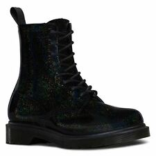 Dr. Martens 100% Leather Wet look, Shiny Boots for Women