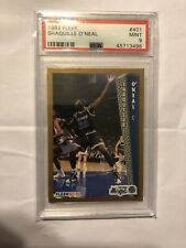 New listing 1992 FLEER SHAQUILLE O'NEAL ROOKIE #401 PSA 9