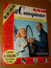 IL CAMPIONE 1956/12=PAOLA BOLOGNANI=GIOSUE BONFANTI=FRED DE BRUYNE MILAN SANREMO