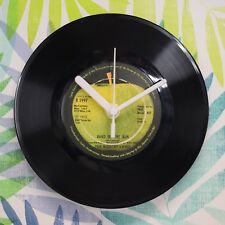 "Wings 'Band On The Run' Retro Chic 7"" Vinyl Record Wall Clock"