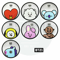 BTS BT21 Official Authentic Goods Coaster By YUYU + Tracking Num