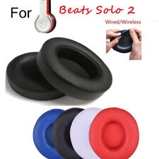 2 Replacement Ear Pad Cushion for Beats by Dr Dre Solo 2.0/3.0 Wireless Headset
