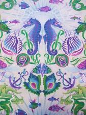 Treasures of Nature Undersea Tile Pink In The Beginning Fabric Yard