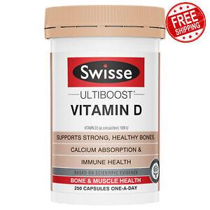 Swisse Ultiboost Vitamin D 250 Tablets