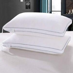 Kissmoon Pillows 2 Pack, Luxury Firm Hotel Pillows Alternative Hypoallergenic