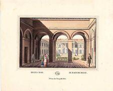 Gravure TRANQUILLO MOLLO Kupferstich,print,1815, Diana bad,le bain de Diane,  jo