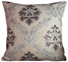 """Large Cushions or covers SET OF 4 CHENILLE vintage Damask 22"""" x 22"""""""