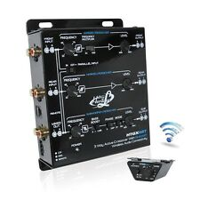 NEW Lanzar HTGX6BT 2-3 Way Active Crossover With Bluetooth Wireless Interface