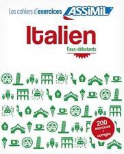 Italien Cahier Dexercices by Burridge, Alan | Spiral-bound Book | 9782700506396