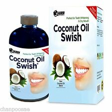 Coconut Oil Swish Pulling and Mouthwash Teeth Whitening Dry Mouth & Oral Detox