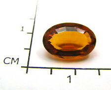 Echter Madeira Citrin oval facettiert in Box 11,5 x 8 x 5,2 mm mit 2,88 Carat