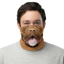 French Mastiff Dog Dogue de Bordeaux Face Mask Neck Gaiter Costume Balaclava