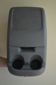 1992-1997 Ford Truck Center Console F150 F250 F350 Bronco OEM Grey