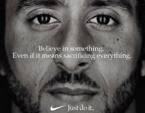 Colin Kaepernick Nike Just do it ad photo  - select size
