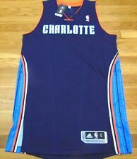 ADIDAS NBA REVOLUTION 30 CHARLOTTE BOBCATS BLUE AUTHENTIC BLANK JERSEY L+2