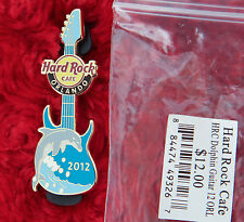 Hard Rock Cafe Pin Dolphin Guitar Wave Porpoise bottle nose Beach logo lapel hat