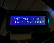 NEW! Yamaha DX7 Backlit LCD kit: MTG LCD with BLUE backlight for DX7 Synthesizer