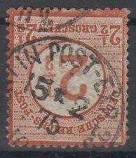 Deutsches Reich Brustschilde Nr. 29 BERLIN POST EXP 23  15 2 1875- ansehen!!!