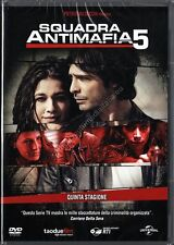 SQUADRA ANTIMAFIA STAGIONE 5 - COFANETTO 5 DVD NUOVO!