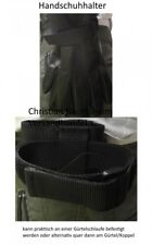 Handschuhhalter für Einsatzhandschuhe hochkant o. längs tragbar Security Halter