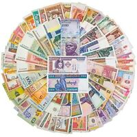 100 - 300 PCS Different Mix World Banknotes Countries Genuine Currency Notes