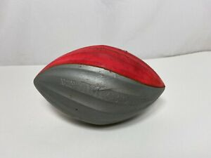 Vintage Nerf Turbo Football Red & Grey 1989 Used Parker Brothers