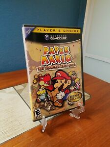 Paper Mario: The Thousand-Year Door (GameCube, 2006) Complete
