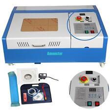 40W CO2 USB Laser Graviermaschine Graveur Graveurausstattung Lasergravierer