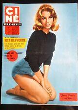 Ciné Télé Revue 29/01/1960; Jane Fonda/ Rita Hayworth/ Strip-Tease des Ladies