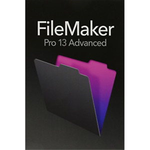 FileMaker Pro 13 Advanced - Mac